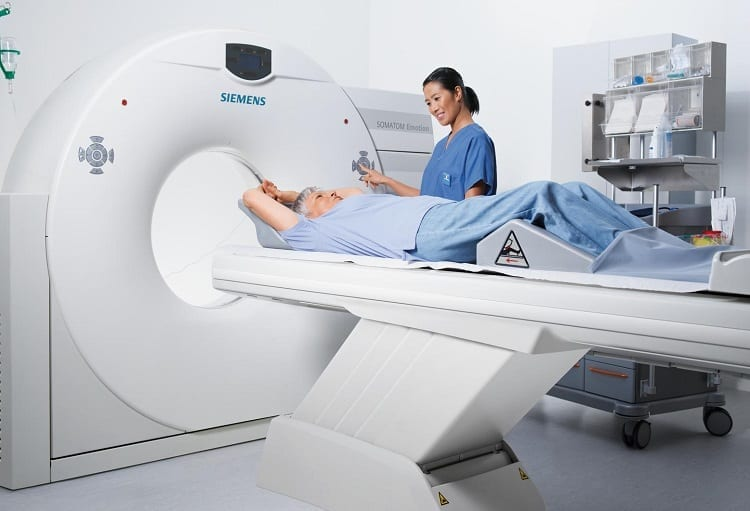 Preparing CT Scan