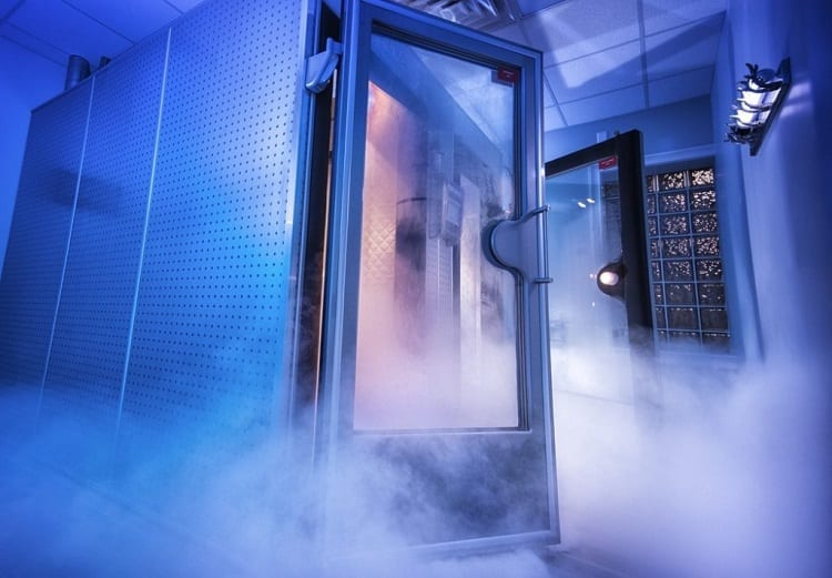 Smoke From Cryotherapy Chamber